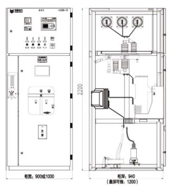 箱型固定式交流金属封闭环网开关设备